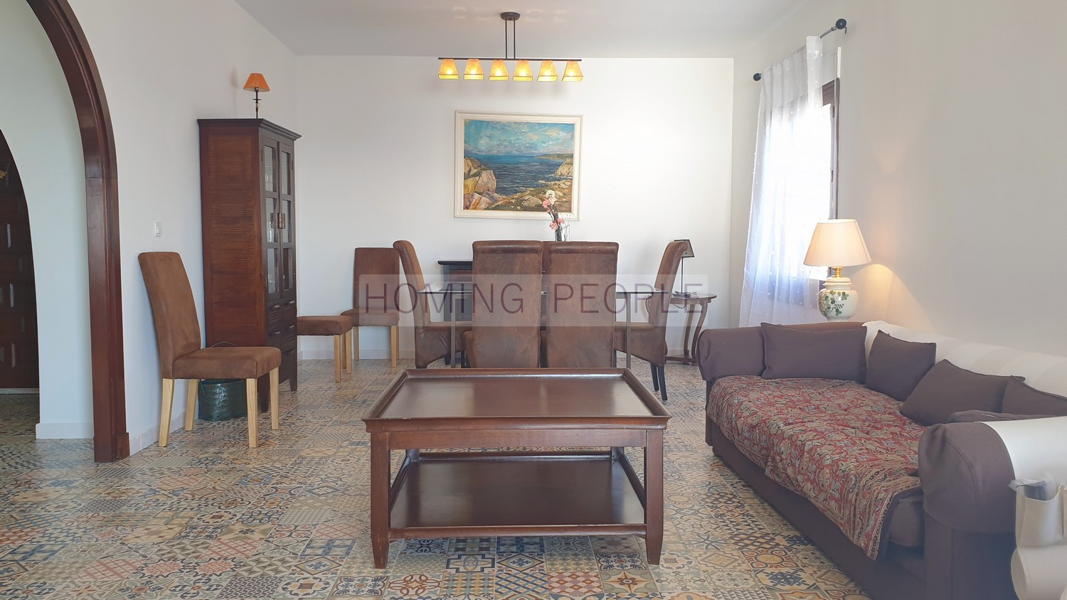 RENTED OUT. Renovated family villa with swimming pool and panoramic sea views